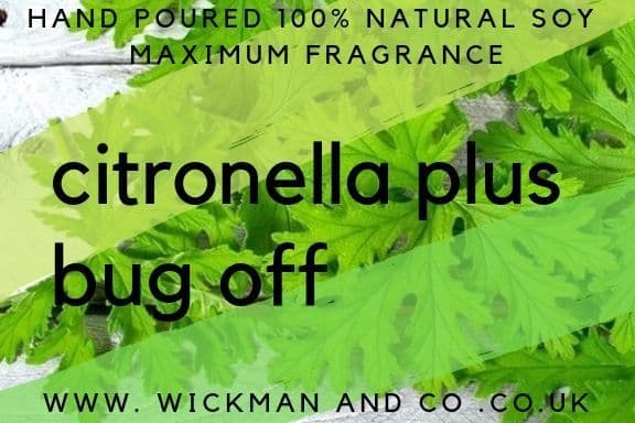Citronella Plus - Bug Off Soy Wax Candle